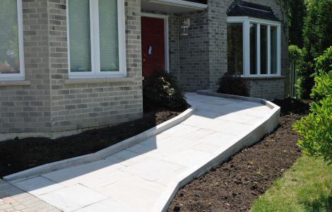 Age in Place Home Design Winnipeg - Entry Ramp